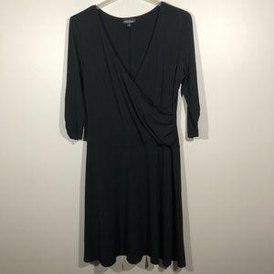 AGB Woman Faux Wrap Dress With Drop Waist  SZ 16